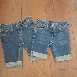 Bermuda girls Jean shorts